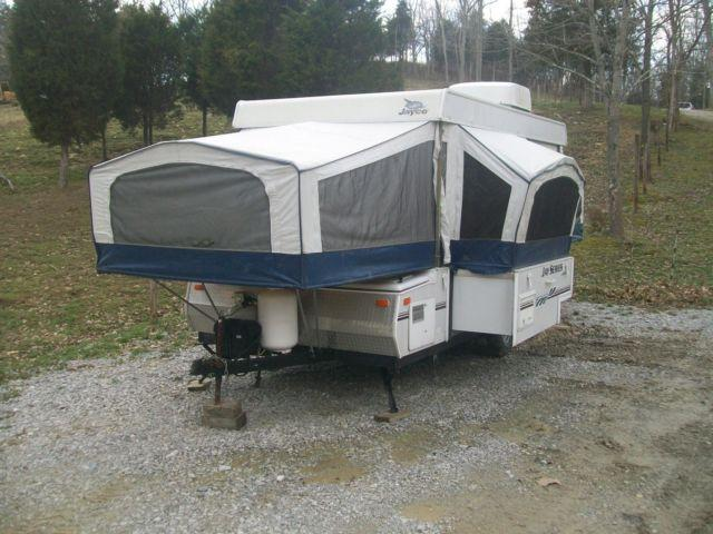 2007 Jayco Jay Series 1206 Pop Up Tent Trailer Camper W