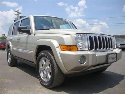 2007 jeep commander suv limited 4x4 suv for sale in. Black Bedroom Furniture Sets. Home Design Ideas