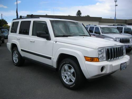 2007 jeep commander suv sport for sale in spokane. Black Bedroom Furniture Sets. Home Design Ideas