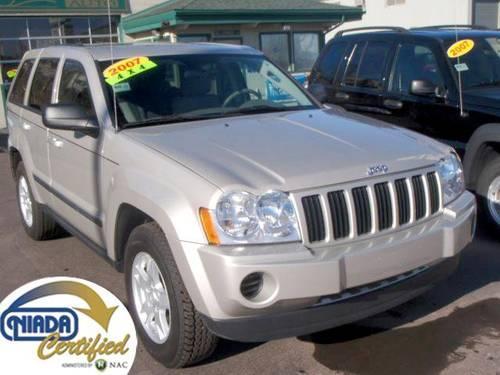 2007 jeep grand cherokee laredo 4x4 silver 43k mi for sale in harvey michigan classified. Black Bedroom Furniture Sets. Home Design Ideas