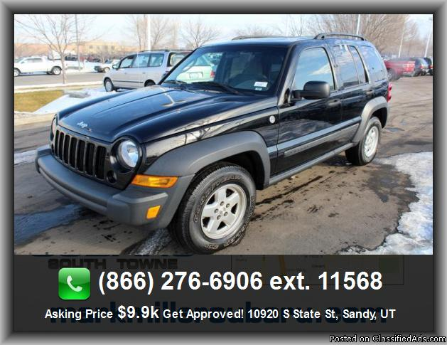 2007 jeep liberty sport suv for sale in salt lake city utah classified. Black Bedroom Furniture Sets. Home Design Ideas