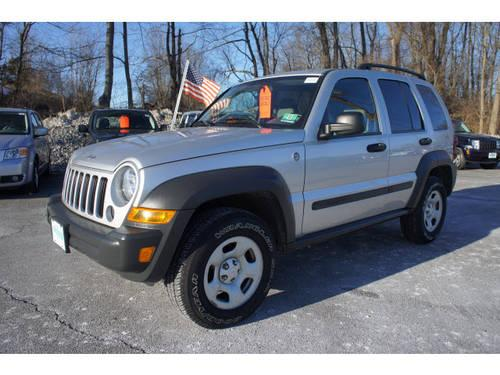 2007 jeep liberty suv 4x4 sport for sale in beemerville new jersey classified. Black Bedroom Furniture Sets. Home Design Ideas