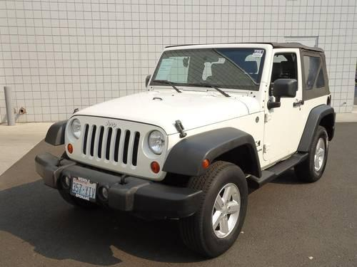 2007 jeep wrangler 2 door suv x for sale in spokane. Black Bedroom Furniture Sets. Home Design Ideas