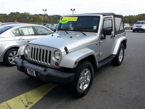 2007 jeep wrangler 2d sport utility sahara for sale in staunton virginia classified. Black Bedroom Furniture Sets. Home Design Ideas