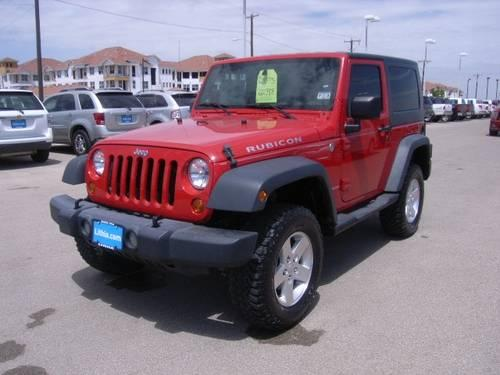 2007 jeep wrangler 2dr 4x4 rubicon rubicon for sale in odessa texas classified. Black Bedroom Furniture Sets. Home Design Ideas