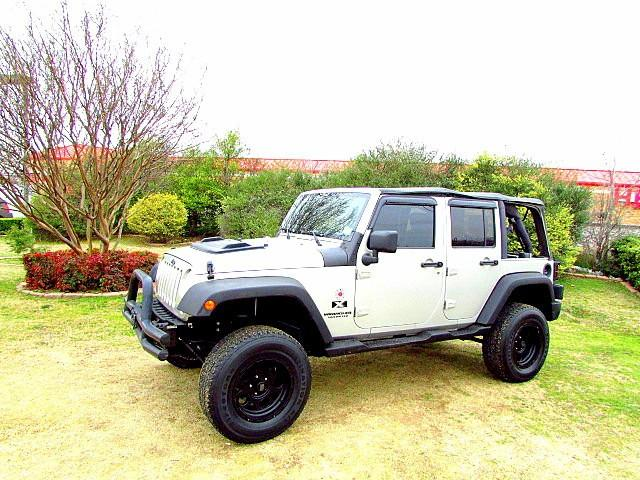 2007 jeep wrangler 2wd 4dr unlimited x for sale in arlington texas classified. Black Bedroom Furniture Sets. Home Design Ideas
