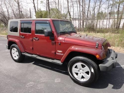 2007 jeep wrangler 4 dr wagon unlimited sahara for sale in ashaiiu virginia classified. Black Bedroom Furniture Sets. Home Design Ideas