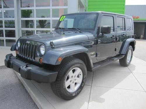 2007 jeep wrangler sport utility unlimited sahara for sale in acorn kentucky classified. Black Bedroom Furniture Sets. Home Design Ideas