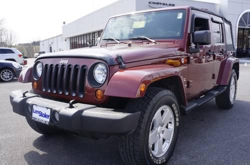 2007 jeep wrangler sport utility unlimited sahara for sale in carrollton maryland classified. Black Bedroom Furniture Sets. Home Design Ideas