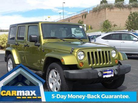 2007 jeep wrangler unlimited sahara 4x4 sahara 4dr suv for sale in colorado springs colorado. Black Bedroom Furniture Sets. Home Design Ideas