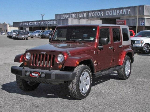 2007 jeep wrangler unlimited sahara for sale in cleburne texas classified. Black Bedroom Furniture Sets. Home Design Ideas