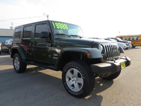 2007 jeep wrangler unlimited sahara rochelle il for sale in flag center illinois classified. Black Bedroom Furniture Sets. Home Design Ideas