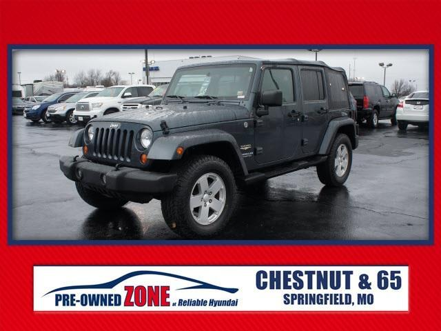 2007 jeep wrangler unlimited sahara springfield mo for sale in springfield missouri classified. Black Bedroom Furniture Sets. Home Design Ideas