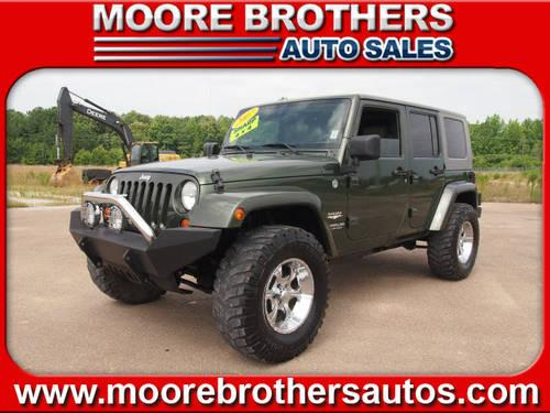 2007 jeep wrangler unlimited suv 4x4 sahara for sale in lafayette mississippi classified. Black Bedroom Furniture Sets. Home Design Ideas