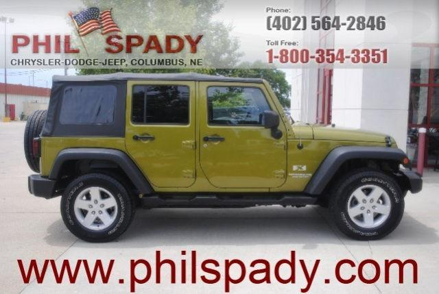 2007 jeep wrangler unlimited x for sale in columbus nebraska classified. Black Bedroom Furniture Sets. Home Design Ideas