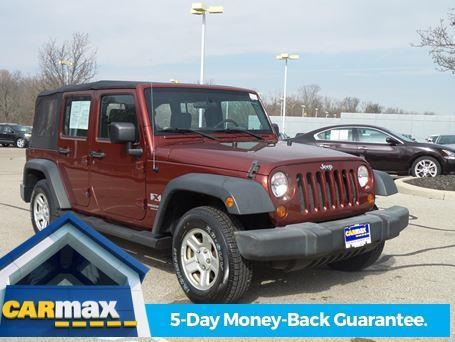 2007 jeep wrangler unlimited x x 4dr suv for sale in dayton ohio classified. Black Bedroom Furniture Sets. Home Design Ideas