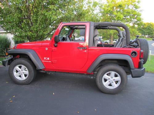 2007 jeep wrangler x 2 door 46k mi for sale in eden prairie minnesota classified. Black Bedroom Furniture Sets. Home Design Ideas
