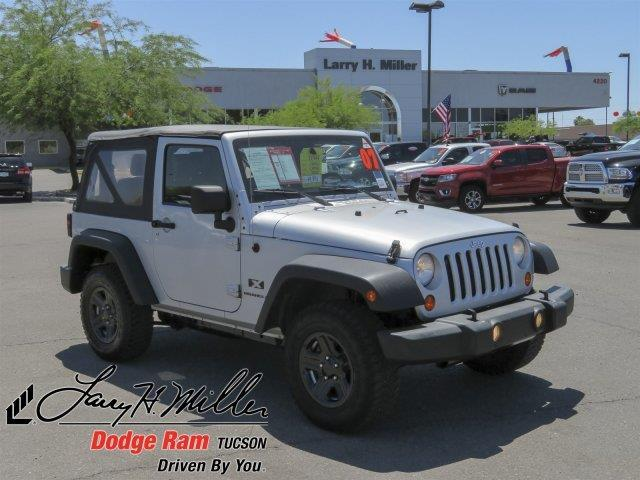 2007 jeep wrangler x 4x4 x 2dr suv for sale in tucson arizona classified. Black Bedroom Furniture Sets. Home Design Ideas