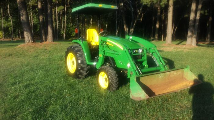 2007 john deere 4120 tractor for sale in smithfield north carolina classified. Black Bedroom Furniture Sets. Home Design Ideas