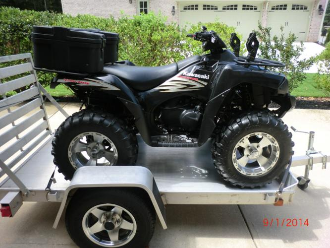 2007 kawasaki brute force 750 for sale in kennesaw georgia classified. Black Bedroom Furniture Sets. Home Design Ideas
