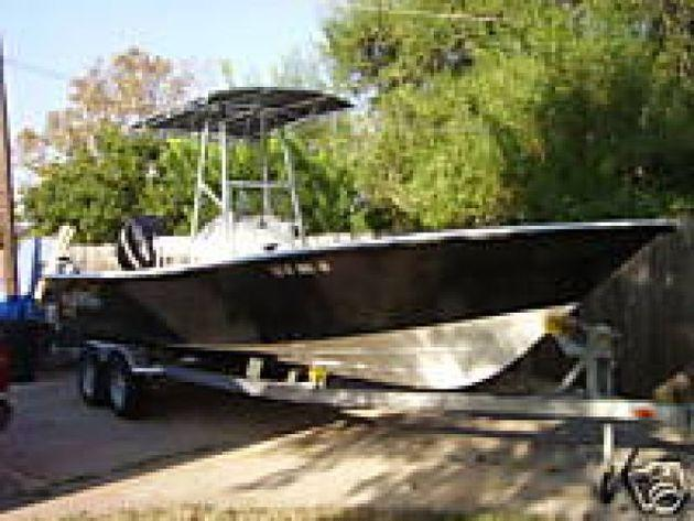 2007 Kenner 24 Vx V X Center Console Fishing Boat For Sale