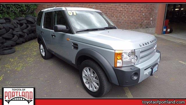 2007 Land Rover LR3 V8 SE V8 SE 4dr SUV 4WD