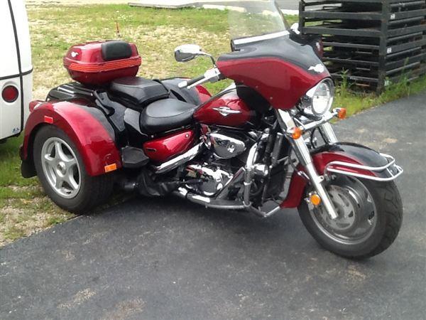2008 Suzuki Boulevard Trike for Sale in Greer, South ...