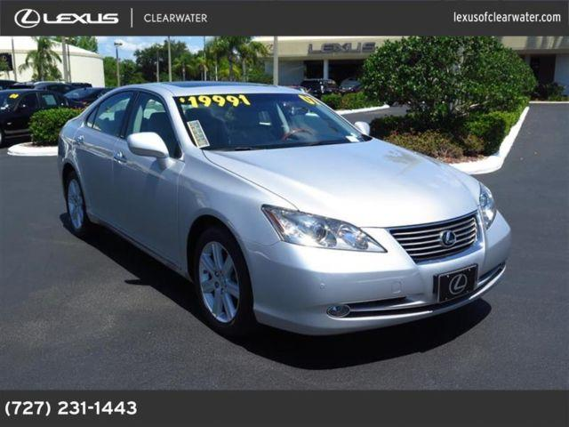2007 lexus es 350 for sale in clearwater florida classified. Black Bedroom Furniture Sets. Home Design Ideas