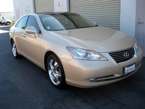 2007 lexus es350 w ultra luxury package tan on tan leather for sale in san marcos california. Black Bedroom Furniture Sets. Home Design Ideas