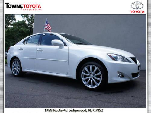 2007 lexus is 250 4 dr sedan awd for sale in ledgewood new jersey classified. Black Bedroom Furniture Sets. Home Design Ideas