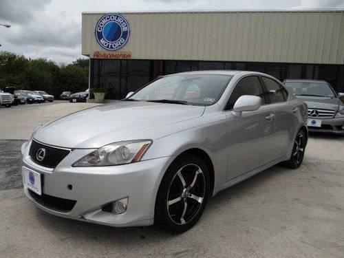2007 lexus is 250 for sale in balcones heights texas classified. Black Bedroom Furniture Sets. Home Design Ideas