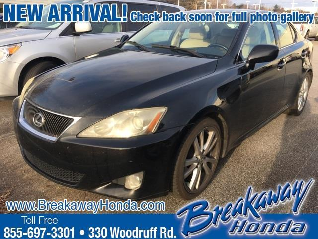 2007 Lexus IS 250 Base 4dr Sedan (2.5L V6 6M)