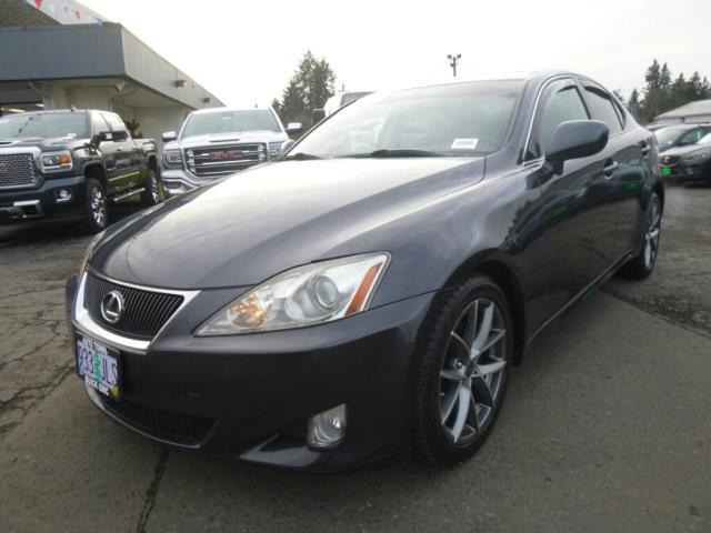 2007 lexus is 250 base awd 4dr sedan 2 5l v6 6a for sale in gladstone oregon classified. Black Bedroom Furniture Sets. Home Design Ideas