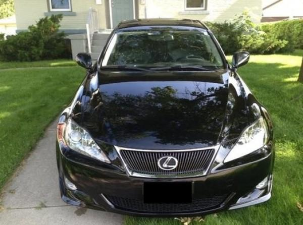 2007 lexus is 350 for sale in oakland california classified. Black Bedroom Furniture Sets. Home Design Ideas