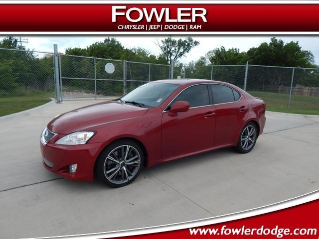 2007 lexus is 350 base 4dr sedan for sale in oklahoma city oklahoma classified. Black Bedroom Furniture Sets. Home Design Ideas