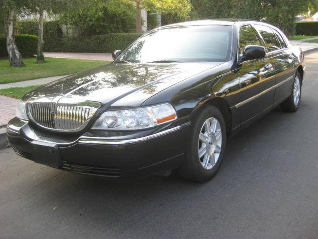 2007 Lincoln Town Car Executive L For Sale In Van Nuys California