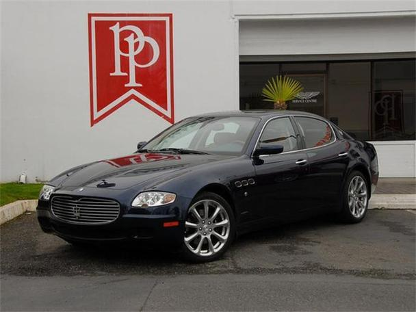 2007 maserati quattroporte for sale in bellevue. Black Bedroom Furniture Sets. Home Design Ideas