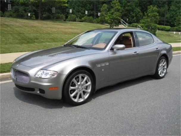 2007 maserati quattroporte executive gt for sale in. Black Bedroom Furniture Sets. Home Design Ideas