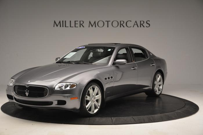 2007 maserati quattroporte sport gt for sale in greenwich. Black Bedroom Furniture Sets. Home Design Ideas