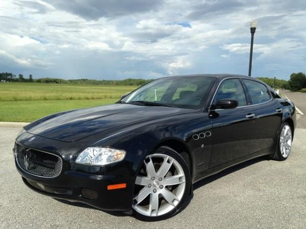 2007 maserati quattroporte sport gt automatic for sale in. Black Bedroom Furniture Sets. Home Design Ideas