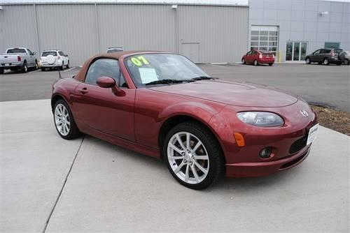2007 mazda mx 5 miata convertible sport for sale in galesburg illinois classified. Black Bedroom Furniture Sets. Home Design Ideas