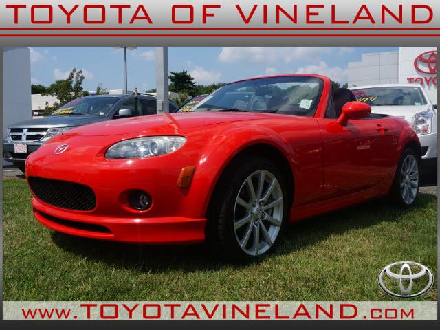 2007 mazda mx 5 miata grand touring 2dr convertible 2l i4 6m for sale in east vineland new. Black Bedroom Furniture Sets. Home Design Ideas
