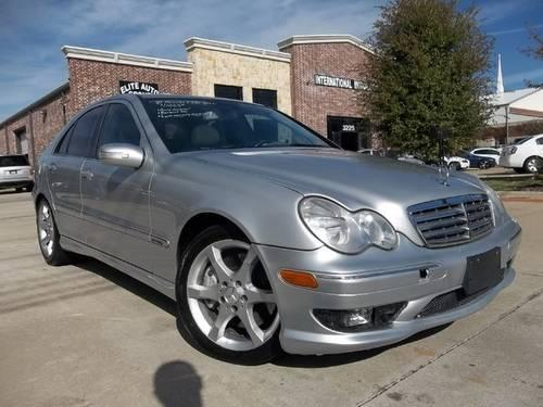 2007 mercedes benz c230 w amg package for sale in dallas for Mercedes benz 2007 c230