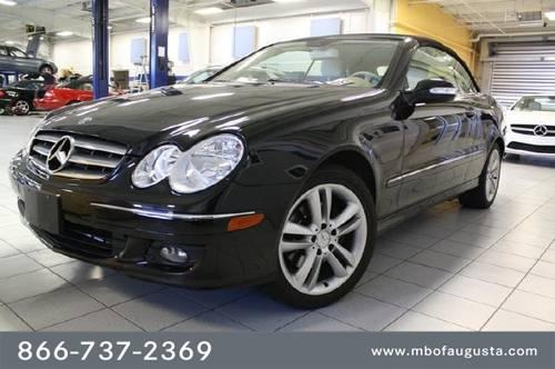 2007 mercedes benz clk class coupe 2dr cabriolet 3 5l for for Mercedes benz of augusta ga