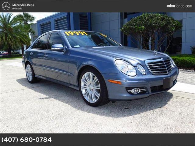 2007 mercedes benz e class for sale in sarasota florida for Mercedes benz of sarasota clark road sarasota fl