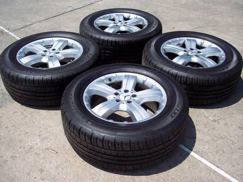 2007 mercedes benz gl450 factory wheels with tires for for Mercedes benz rims for sale