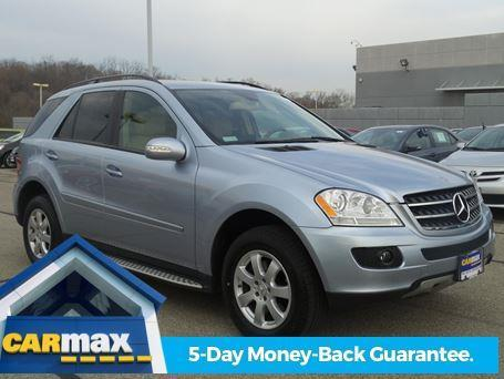 2007 mercedes benz m class ml 350 awd ml 350 4matic 4dr suv for sale in cincinnati ohio. Black Bedroom Furniture Sets. Home Design Ideas