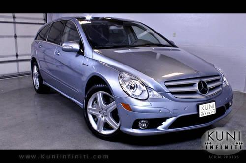 2007 mercedes benz r63 amg 4matic suv awd 500 hp w leather for sale in lynnwood washington. Black Bedroom Furniture Sets. Home Design Ideas