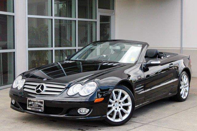 2007 mercedes benz sl class sl 550 sl 550 2dr convertible for Bellevue mercedes benz