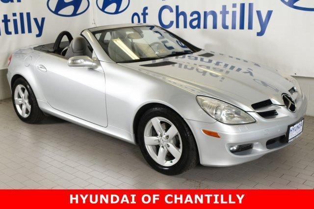 Mercedes Benz Of Midlothian >> 2007 Mercedes-Benz SLK SLK 280 SLK 280 2dr Convertible for Sale in Chantilly, Virginia ...